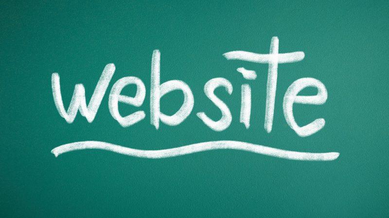 ホームページ=ウェブサイト?